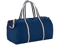 Хлопковая дорожная сумка Weekender, темно-синий (артикул 12019401)