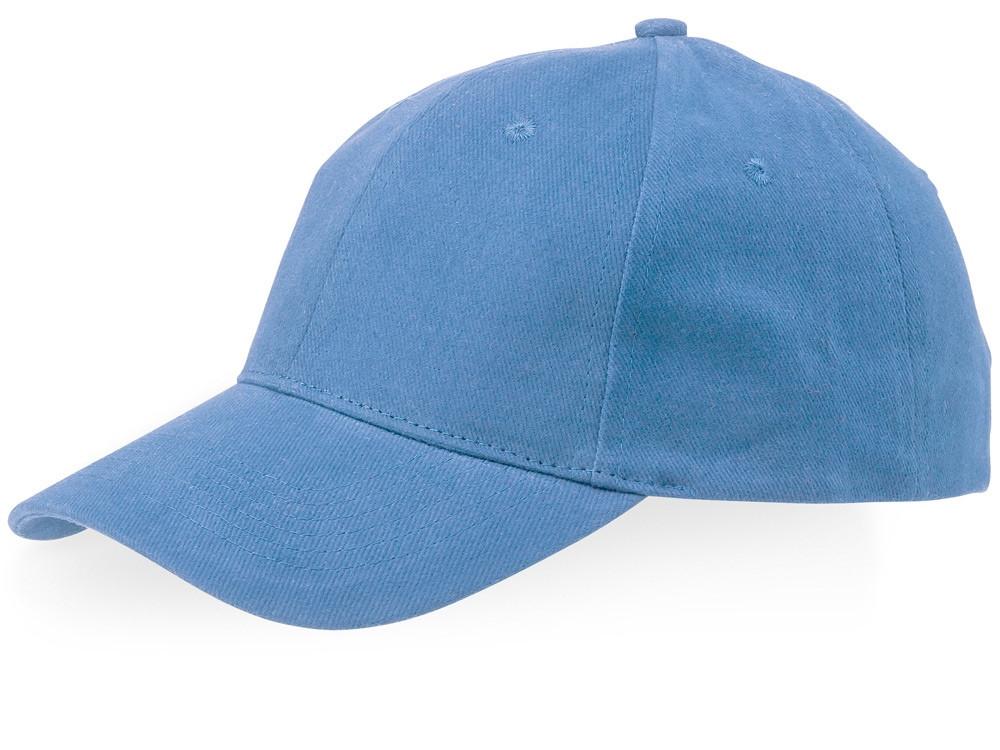Бейсболка Watson, 6 панелей, светло-синий (артикул 38653400)