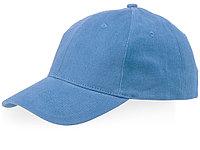 Бейсболка Watson, 6 панелей, светло-синий (артикул 38653400), фото 1