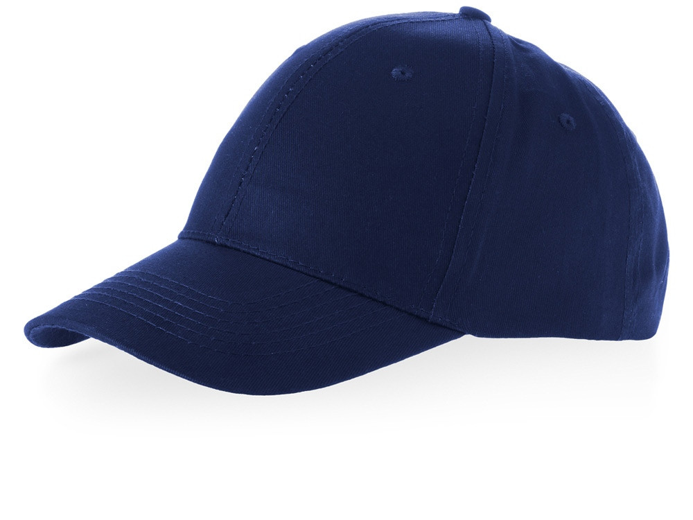 Бейсболка Watson, 6 панелей, темно-синий (артикул 38653490)