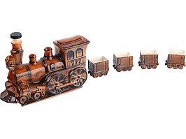 Набор для водки Железнодорожный состав (артикул 82748)