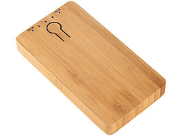 Повербанк PB-5000 Bamboo, коричневый (артикул 12367600)
