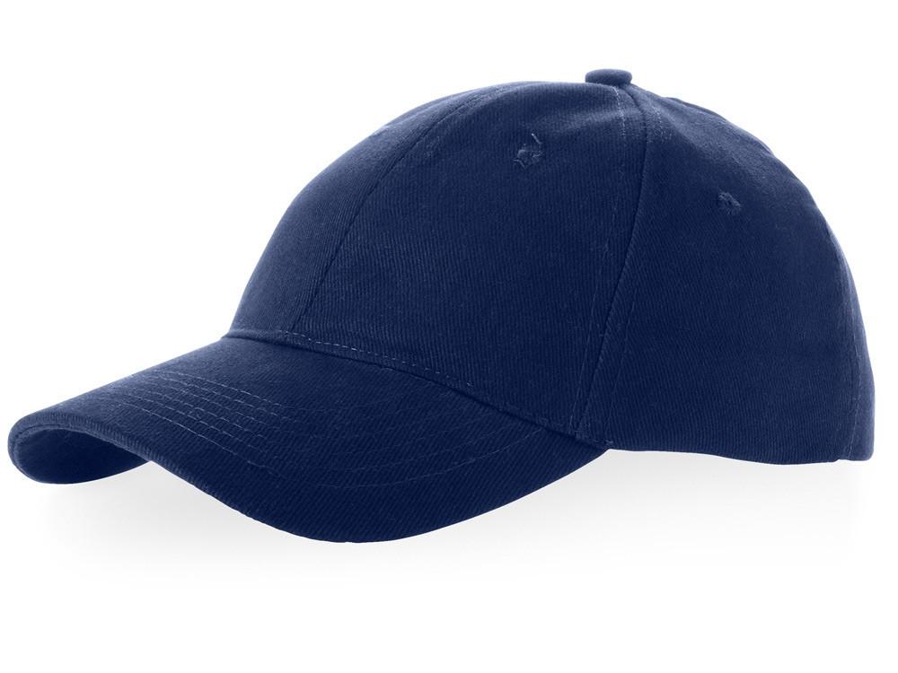 Бейсболка Bryson, 6 панелей, темно-синий (артикул 38654490)