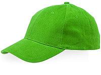 Бейсболка Bryson, 6 панелей, зеленое яблоко (артикул 38654680), фото 1