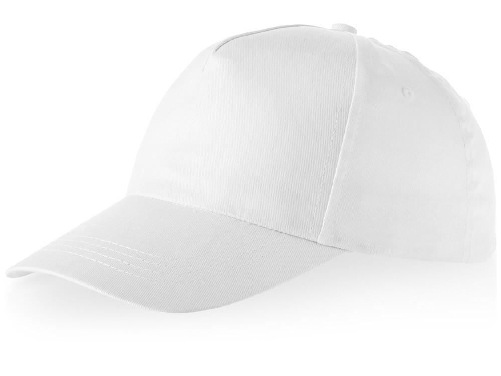 Бейсболка Brunswick, 5 панелей, белый (артикул 38655010)