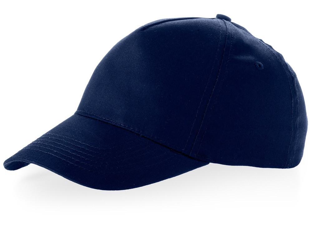 Бейсболка Brunswick, 5 панелей, темно-синий (артикул 38655490)