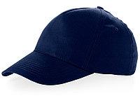 Бейсболка Brunswick, 5 панелей, темно-синий (артикул 38655490), фото 1