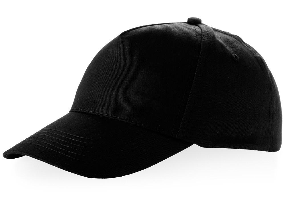 Бейсболка Brunswick, 5 панелей, черный (артикул 38655990)