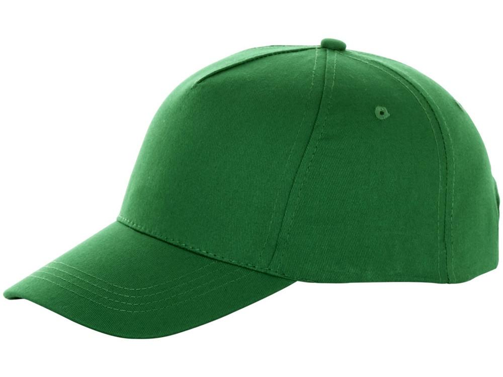 Бейсболка Brunswick, 5 панелей, зеленый (артикул 38655690)