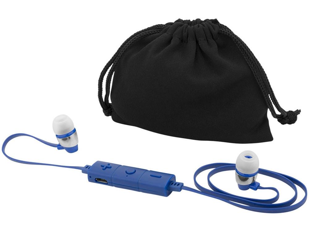 Наушники Bustle Bluetooth®, синий (артикул 13420502)
