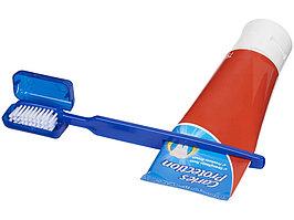 Зубная щетка Dana с выжимателем, синий (артикул 12613700)