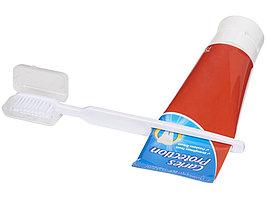 Зубная щетка Dana с выжимателем, белый (артикул 12613701)