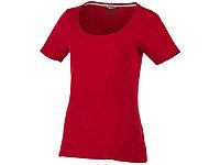 Женская футболка с короткими рукавами Bosey, темно-красный (артикул 33022282XL)