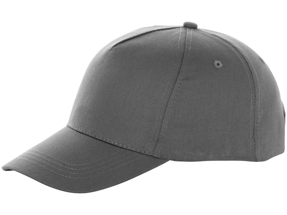 Бейсболка Brunswick, 5 панелей, серый (артикул 38655920)