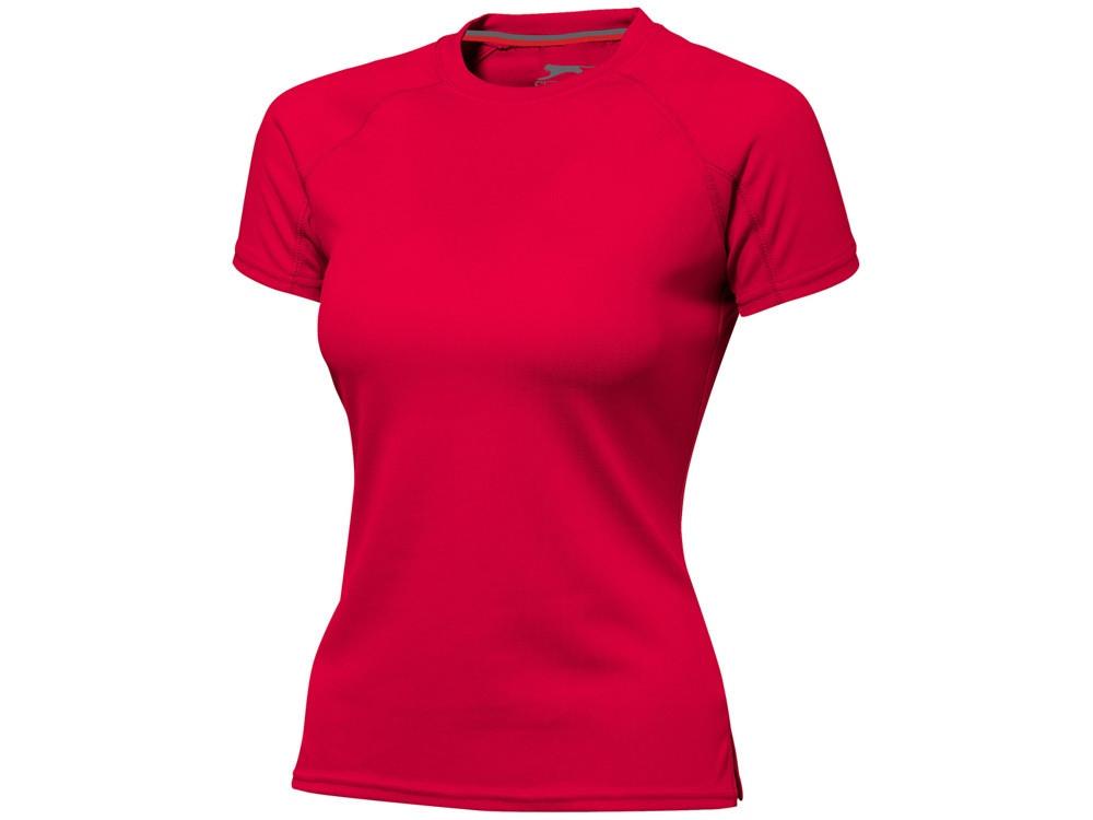 Футболка Serve женская, красный (артикул 3302025L)