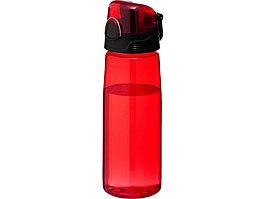 Бутылка спортивная Capri, красный (артикул 10031302)