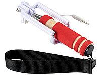 Мини селфи палка со шнурочком, красный (артикул 13422001), фото 1