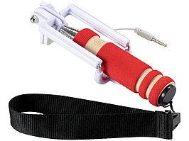 Мини селфи палка со шнурочком, красный (артикул 13422001)