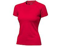 Футболка Serve женская, красный (артикул 3302025M), фото 1