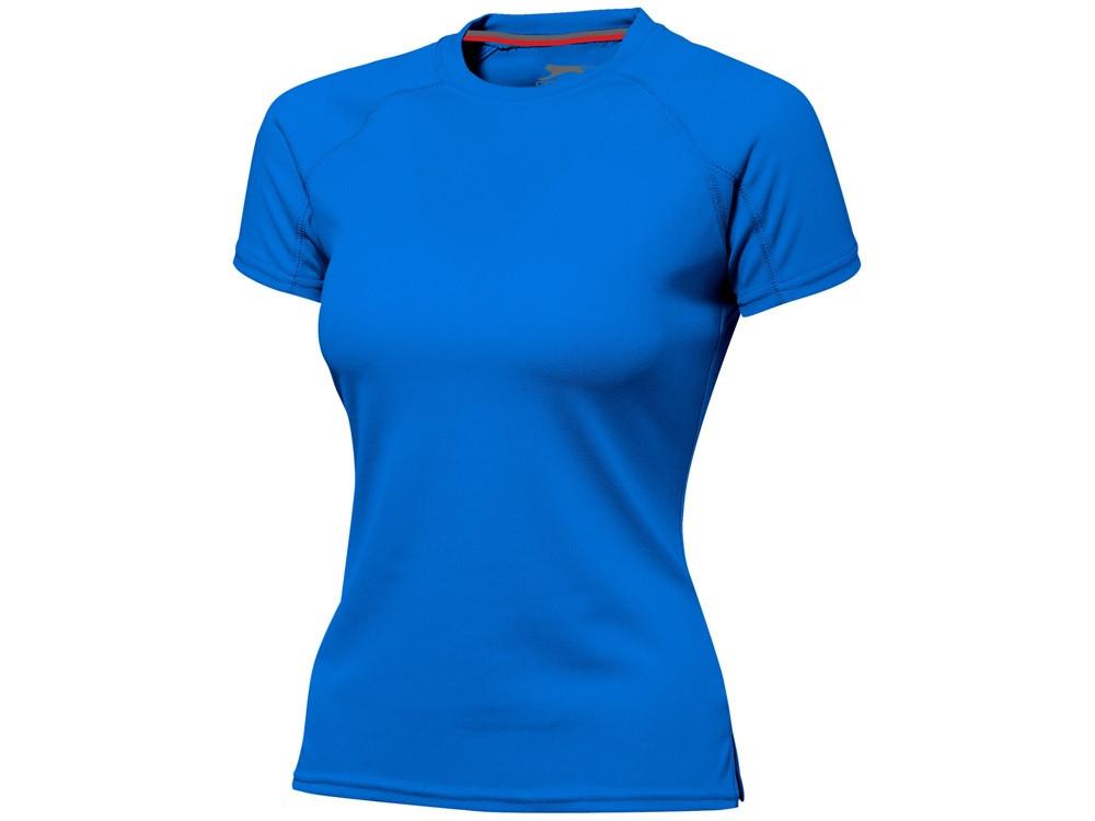 Футболка Serve женская, небесно-голубой (артикул 3302042L)