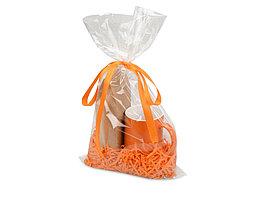 ПодарочныйнаборMattina с кофе,оранжевый (артикул 700118)