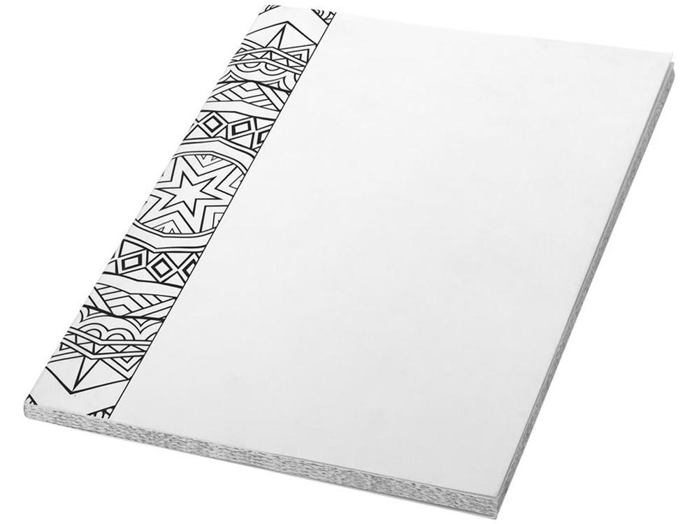 Блокнот А5 Doodle Colour Therapy, белый/черный (артикул 10690600)