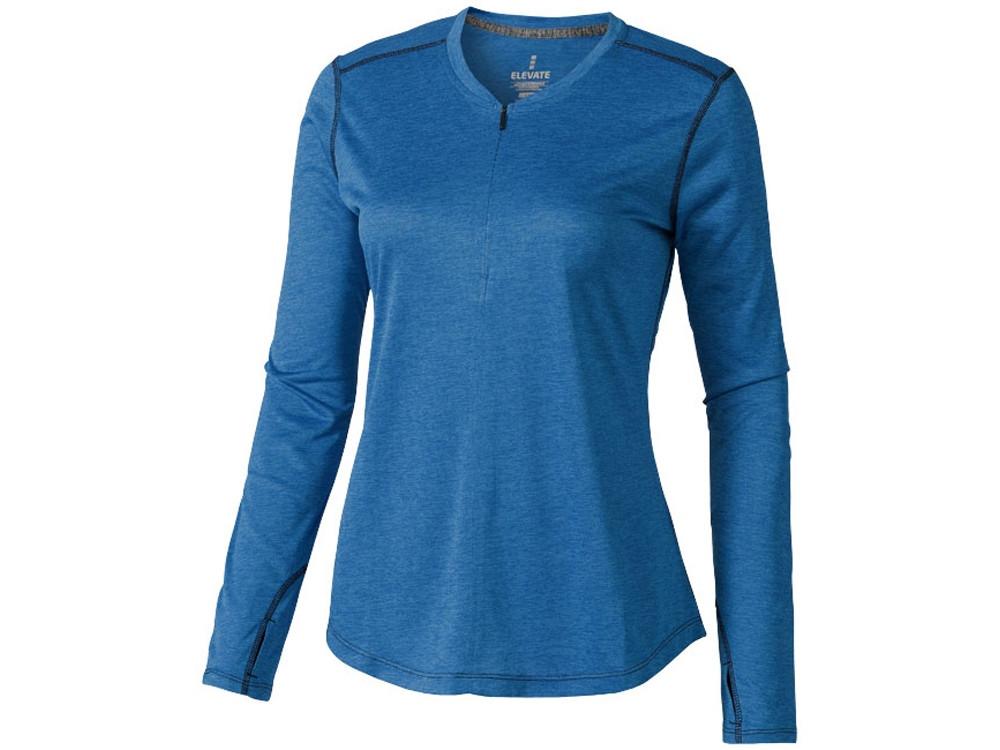 Лонгслив Quadra женский с длинным рукавом, синий (артикул 3902453XS)