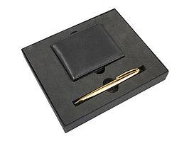 Набор Черное золото: портмоне, ручка шариковая (артикул 379305)