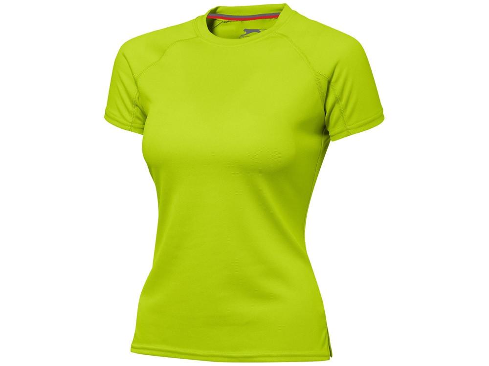 Футболка Serve женская, зеленое яблоко (артикул 3302068S)