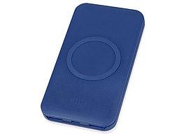 Портативное беспроводное зарядное устройство Impulse, 4000 mAh, синий (артикул 5910501)