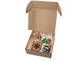 Подарочный набор Nevicata с вареньем и игрушками, крафт (артикул 700096)