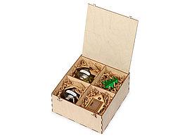 Подарочный набор Decoration Deluxe с двумя видами варенья, натуральный (артикул 700097)