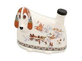 Штоф- собака Зимние забавы, 500мл (артикул 82772)