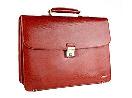 Портфель Diplomat, рыжий (артикул 58699)