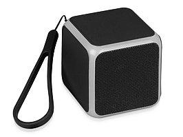 Портативная колонка Cube с подсветкой, черный (артикул 5910807)