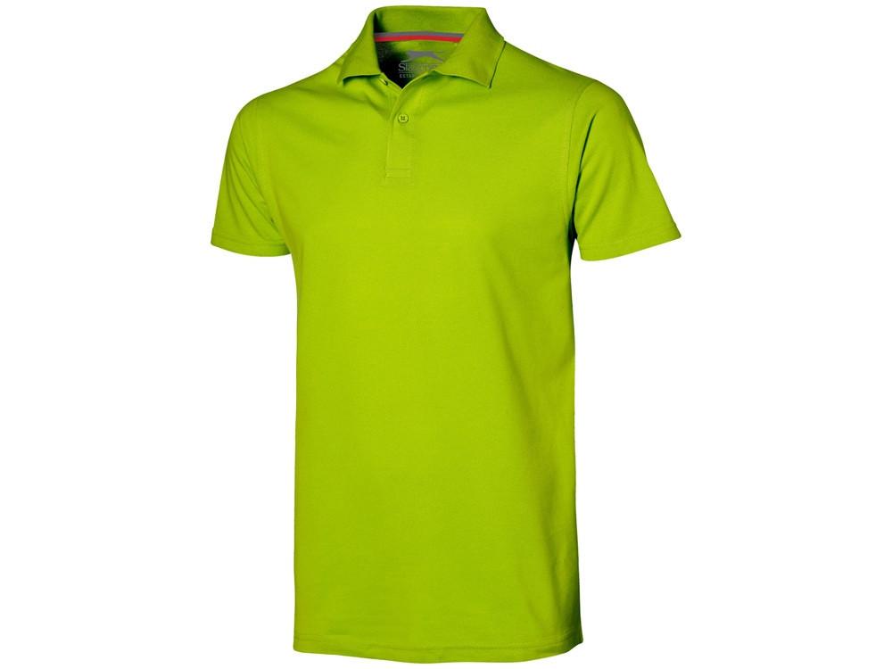 Рубашка поло Advantage мужская, зеленое яблоко (артикул 3309868L)