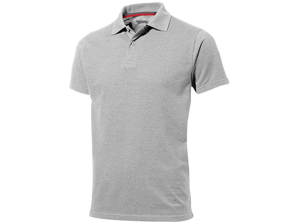 Рубашка поло Advantage мужская, серый меланж (артикул 33098952XL)