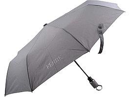 Складной зонт Ferre, полуавтомат, серый (артикул 90530)