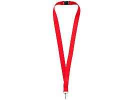 Ремешок на шею с карабином Бибионе, красный (артикул 10219303)