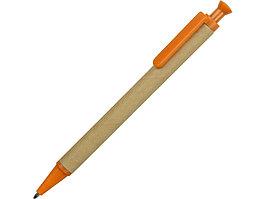 Ручка шариковая Эко, бежевый/оранжевый (артикул 18340.13)