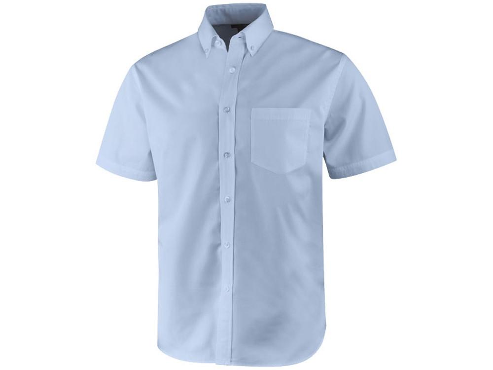 Рубашка Stirling мужская с коротким рукавом, синий (артикул 3817041L)