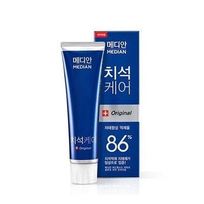 Зубная паста для антибактериальная Amore pacific MEDIAN original 86% Toothpaste (Blue), фото 2