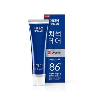 Зубная паста для антибактериальная Amore pacific MEDIAN original 86% Toothpaste (Blue)