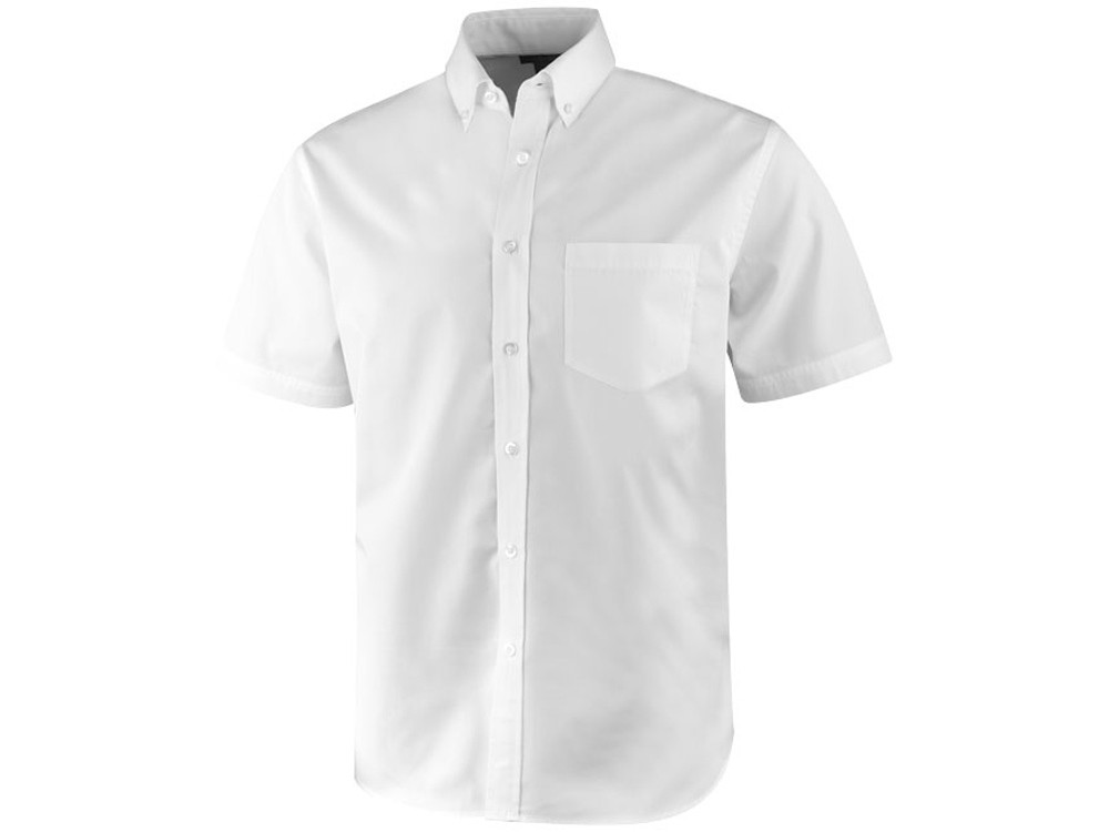 Рубашка Stirling мужская с коротким рукавом, белый (артикул 3817001XS)