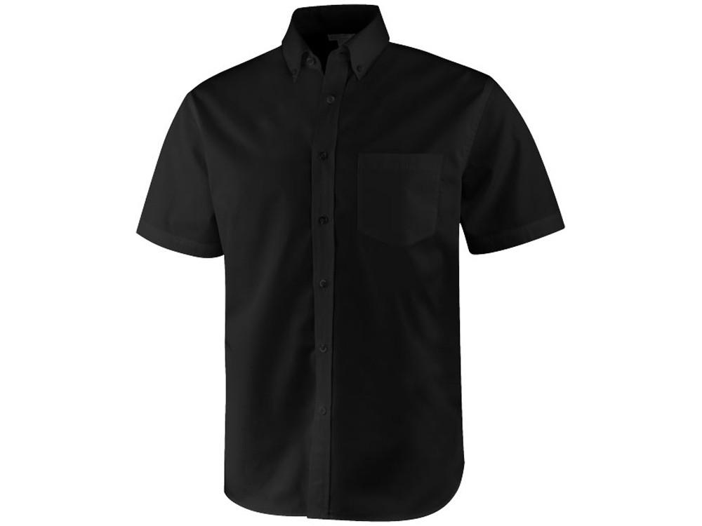 Рубашка Stirling мужская с коротким рукавом, черный (артикул 3817099XS)