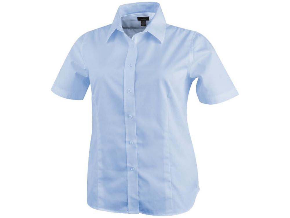 Рубашка Stirling женская с коротким рукавом, синий (артикул 3817141XL)