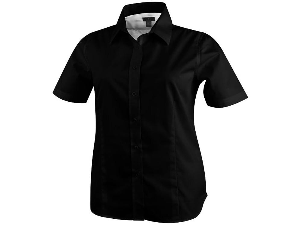 Рубашка Stirling женская с коротким рукавом, черный (артикул 3817199L)