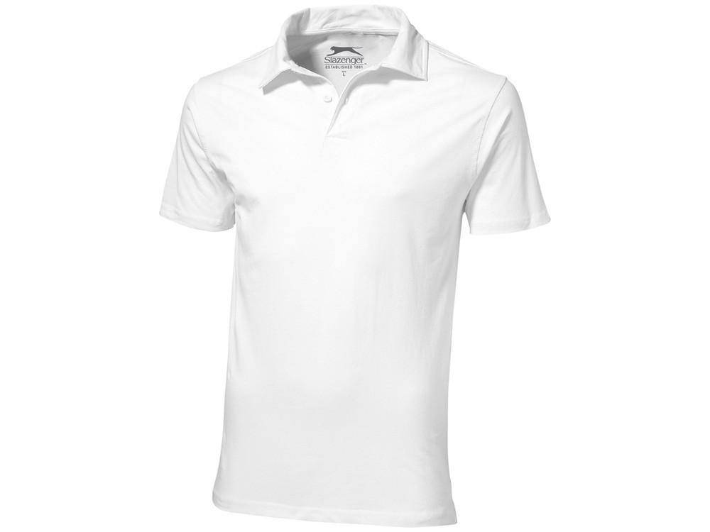 Рубашка поло Let мужская, белый (артикул 3310201S)