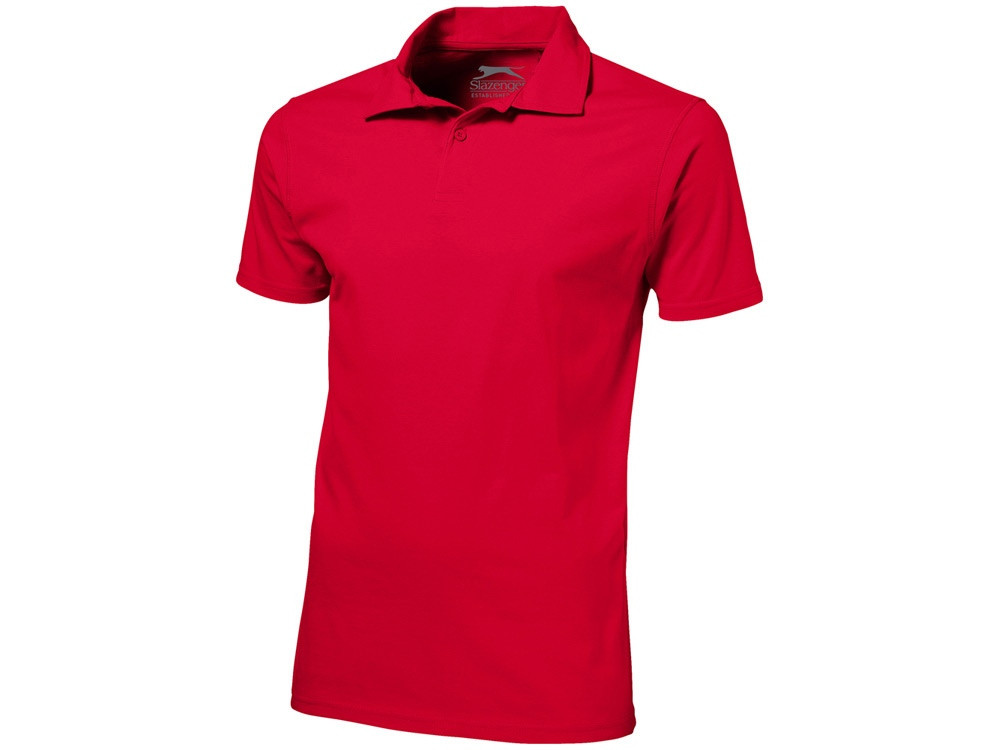 Рубашка поло Let мужская, красный (артикул 3310225M)