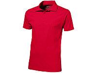 Рубашка поло Let мужская, красный (артикул 3310225M), фото 1